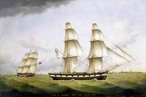 Neo-Classical painting reproductions: Niger of Sunderland William Souter Commander