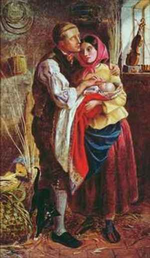 The Blind Basket Maker with his First Child