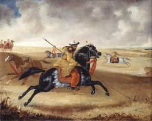 Joshua Reynolds Gwatkin reproductions - Skinners Horse at Exercise