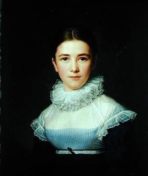 Neo-Classical painting reproductions: Portrait of Lina Groger the foster daughter of the Artist