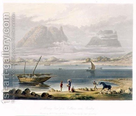 Morning View from Calliann near Bombay by (after) Grindlay, Captain Robert M. - Reproduction Oil Painting