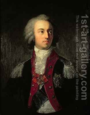Prince Adam Kazimierz Czartoryski 1734-1823 by Giuseppe or Josef Grassi - Reproduction Oil Painting