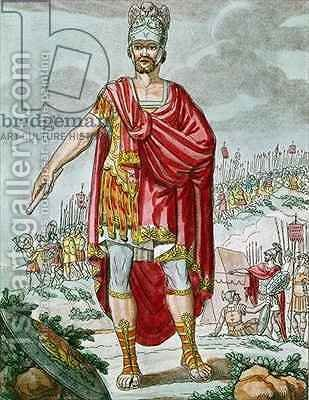 A Centurion by (after) Grasset de Saint-Sauveur, Jacques - Reproduction Oil Painting
