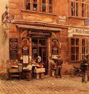 Realism painting reproductions: The General Store Vienna