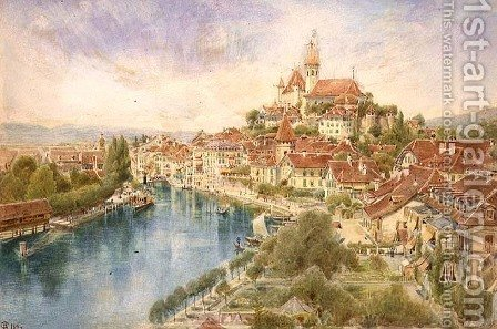 Thun by Harry Goodwin - Reproduction Oil Painting