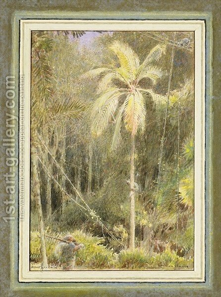 Robinson Crusoe by Albert Goodwin - Reproduction Oil Painting