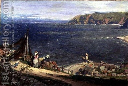 The Toilers Return by Albert Goodwin - Reproduction Oil Painting
