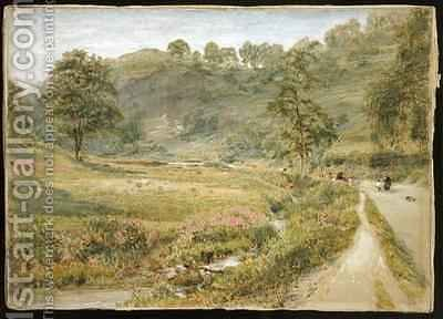 Matlock by Albert Goodwin - Reproduction Oil Painting