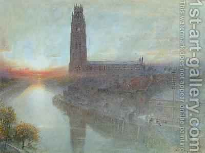 Boston by Albert Goodwin - Reproduction Oil Painting