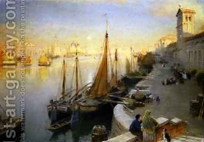 Venice 3 by Albert Goodwin - Reproduction Oil Painting