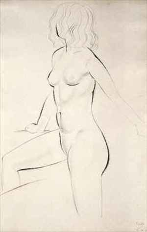 Eric Gill reproductions - Standing Female Nude