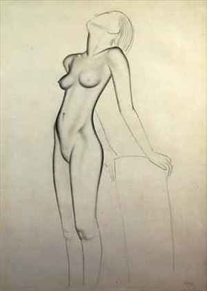 Reproduction oil paintings - Eric Gill - Nude