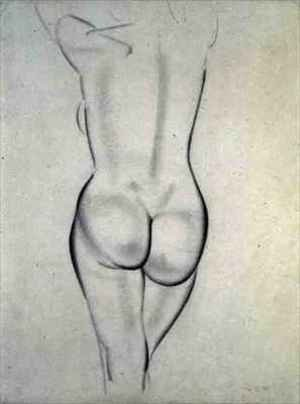 Reproduction oil paintings - Eric Gill - The Nude