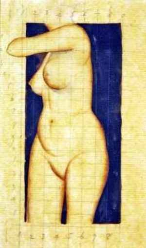 Reproduction oil paintings - Eric Gill - Study For Headless Female Torso