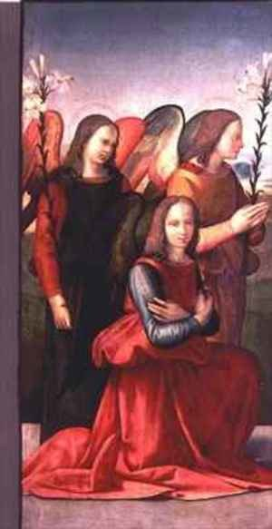 Reproduction oil paintings - Ridolfo Ghirlandaio - Three angels