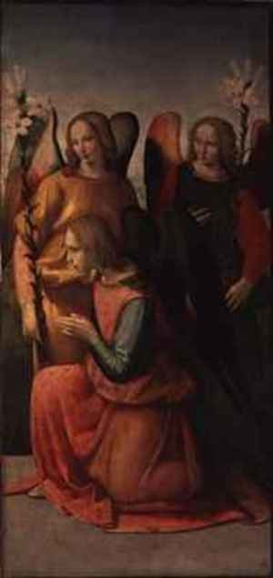 Reproduction oil paintings - Ridolfo Ghirlandaio - Three Angels 2