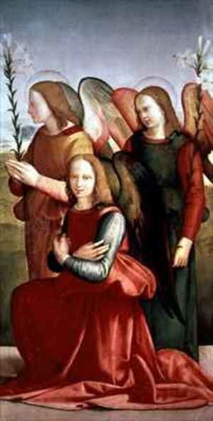 Reproduction oil paintings - Ridolfo Ghirlandaio - Three Angels 3