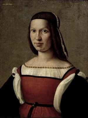 Reproduction oil paintings - Ridolfo Ghirlandaio - Portrait of a woman
