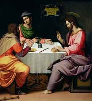 Reproduction oil paintings - Ridolfo Ghirlandaio - The Supper at Emmaus