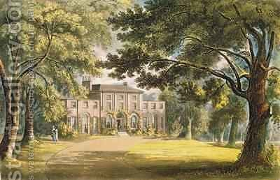 Holly Grove House by (after) Gendall, John - Reproduction Oil Painting