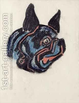 Dog by Henri Gaudier-Brzeska - Reproduction Oil Painting