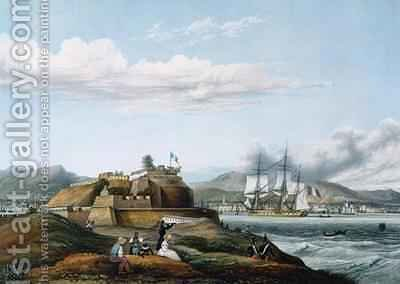 View of Fort Royal Martinique by Ambroise-Louis Garneray - Reproduction Oil Painting