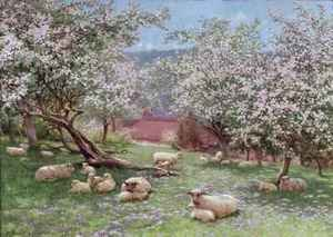 Neo-Classical painting reproductions: Appleblossom