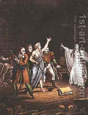 Awful Invocation of a Spirit by (after) Fussel, Alexander - Reproduction Oil Painting