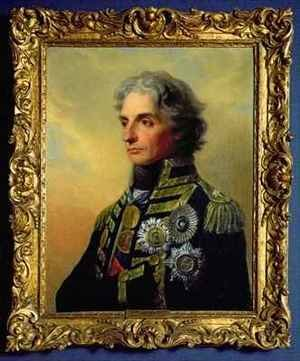 Famous paintings of Men: Portrait of Lord Horatio Nelson