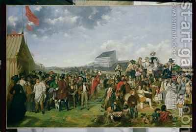 Derby Day by (after) Frith, William Powell - Reproduction Oil Painting