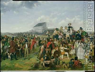 Derby Day 3 by (after) Frith, William Powell - Reproduction Oil Painting