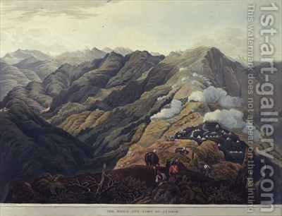 The Ridge and Fort of Jytock by (after) Fraser, James Baillie - Reproduction Oil Painting