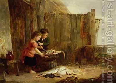 The Morning Catch by Alexander Jnr. Fraser - Reproduction Oil Painting