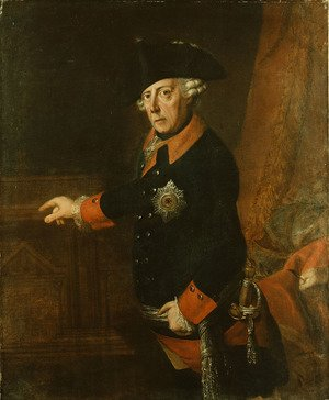 J.H.C. Franke reproductions - Frederick II The Great of Prussia