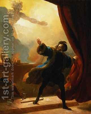 The Fatal Hour Fantastic Subject by Alexandre Evariste Fragonard - Reproduction Oil Painting