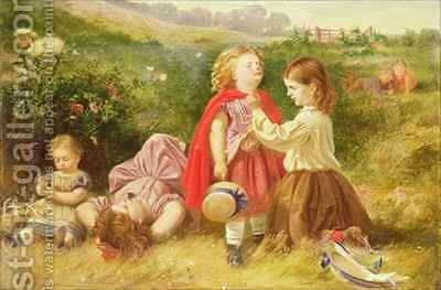 Do You Like Butter by (after) Foster, Myles Birket - Reproduction Oil Painting