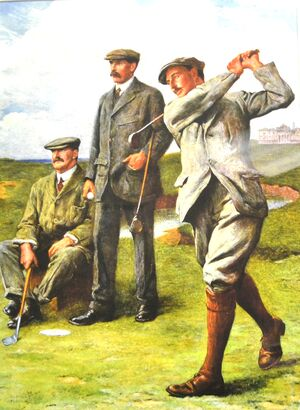 Famous paintings of Golf: The Great Triumvirate