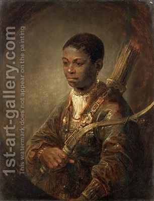 A Young Archer by Govert Teunisz. Flinck - Reproduction Oil Painting