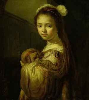 Reproduction oil paintings - Govert Teunisz. Flinck - Picture of a Young Girl