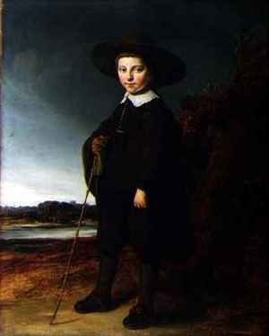 Reproduction oil paintings - Govert Teunisz. Flinck - Portrait of a Boy