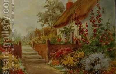 Huge version of Cottage Garden Scene