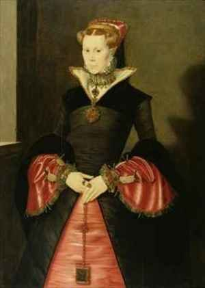 Reproduction oil paintings - Hans Eworth - Unknown Lady from the court of King Edward VI