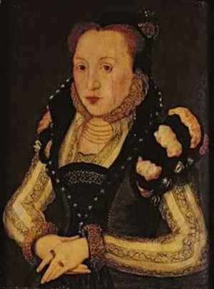 Reproduction oil paintings - Hans Eworth - Lady Mary Grey 1545-78