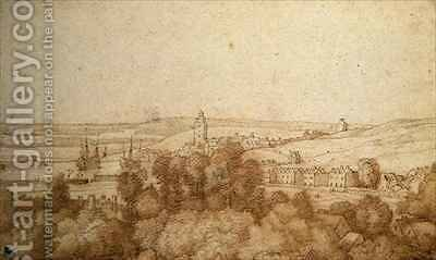 A view of Chatham from the West by Jacob Esselens - Reproduction Oil Painting