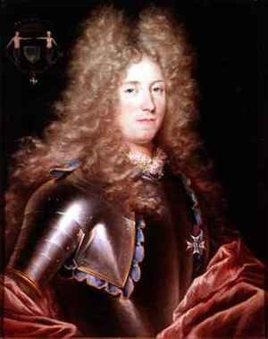 Portrait of a nobleman in armour