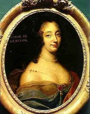 Portrait of Ninon de Lenclos 1620-1705