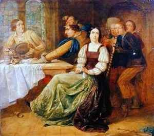 Scene from Taming of the Shrew