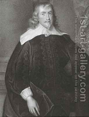 Portrait of Francis Russell 1593-1641 4th Earl of Bedford by (after) Dyck, Sir Anthony van - Reproduction Oil Painting