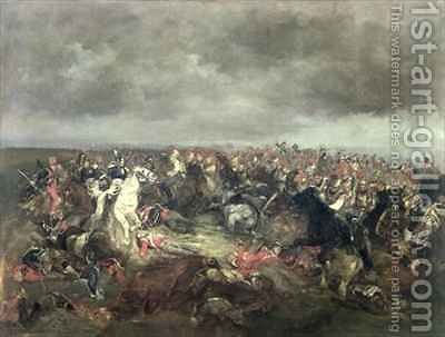 Marshal Ney 1769-1815 at Waterloo by Henri-Louis Dupray - Reproduction Oil Painting