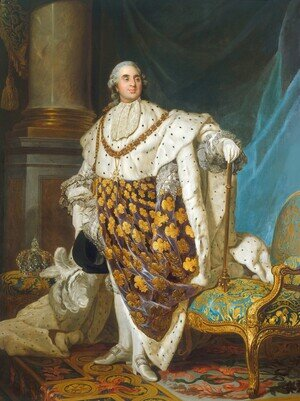 Reproduction oil paintings - Joseph Siffrein Duplessis - Louis XVI 1754-93 King of France in Coronation Robes